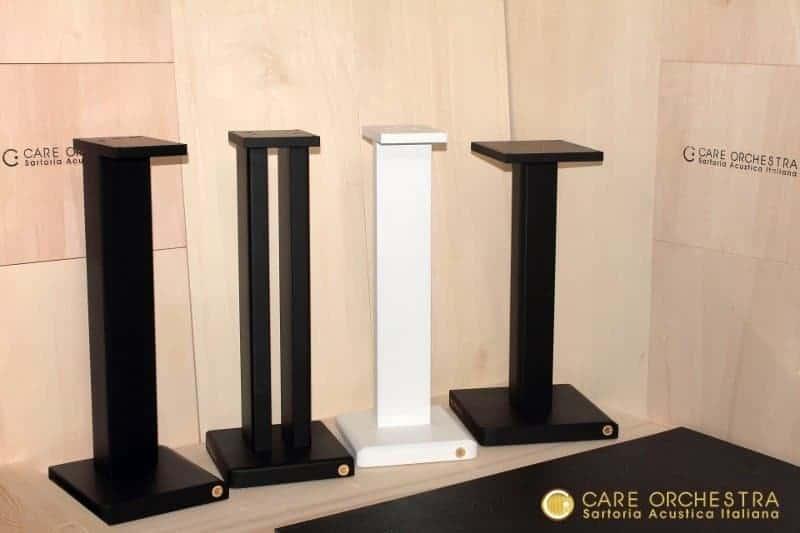 Care orchestra stand di design per diffusori acustici - Casse acustiche design ...