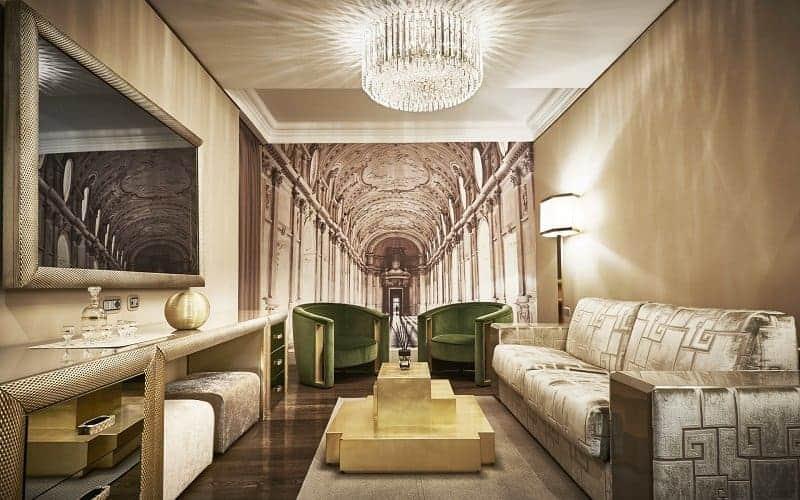Spagna Royal Suites Salotto
