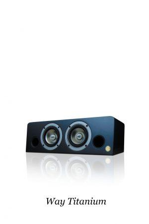 Diffusori Acustici - Home Cinema Speaker - Central Channel Way Titanium