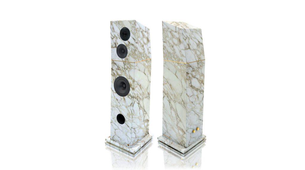 Marble Speakers - Speaker page