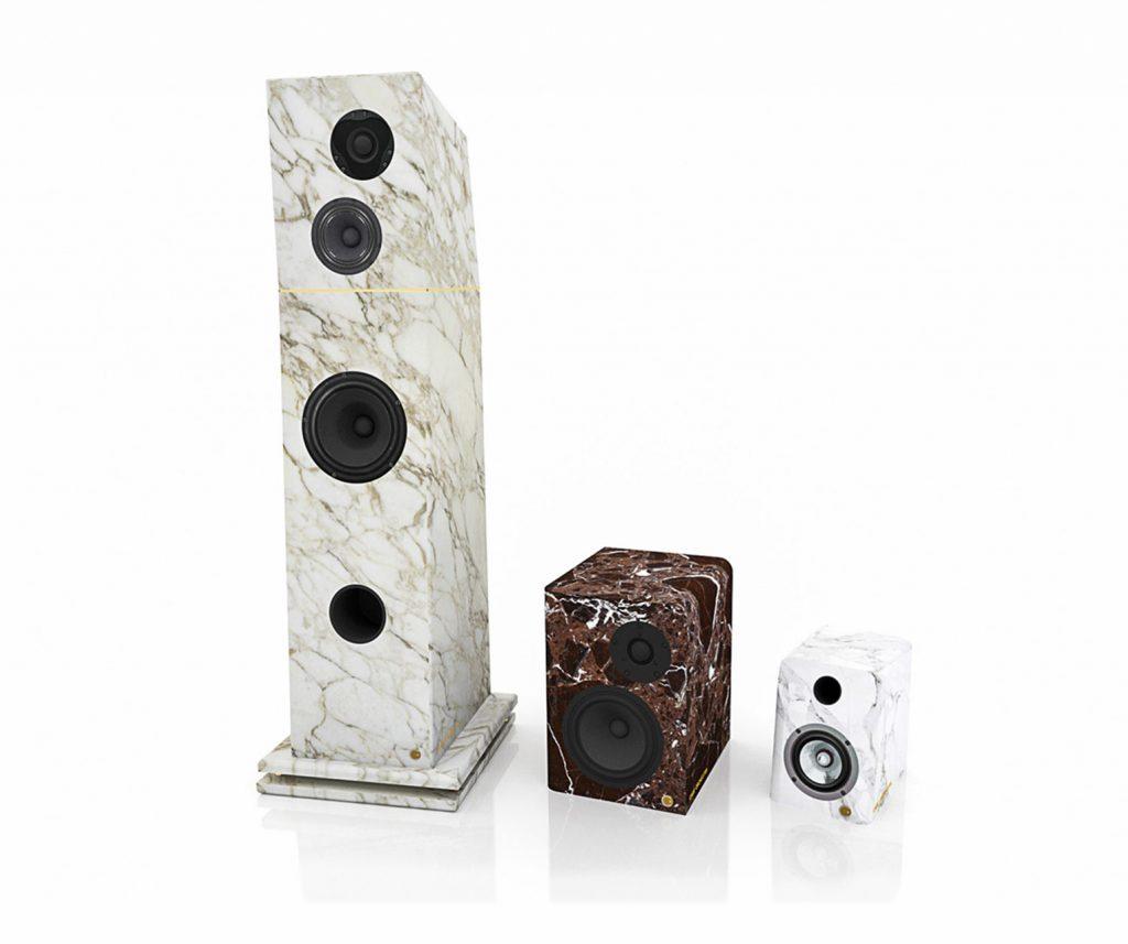 Hand Crafted Custom Marble Speakers